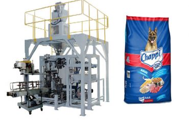 15Kg pet food big bag packing machine