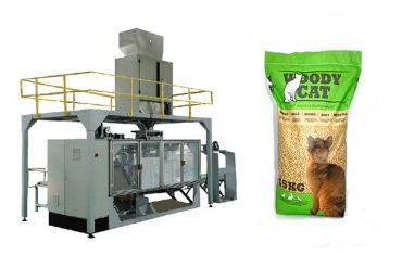 5kg-25kg bags cat litter packing machinery