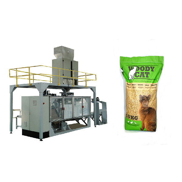 15kg 25kg bags cat litter machinery - Bagging Machine