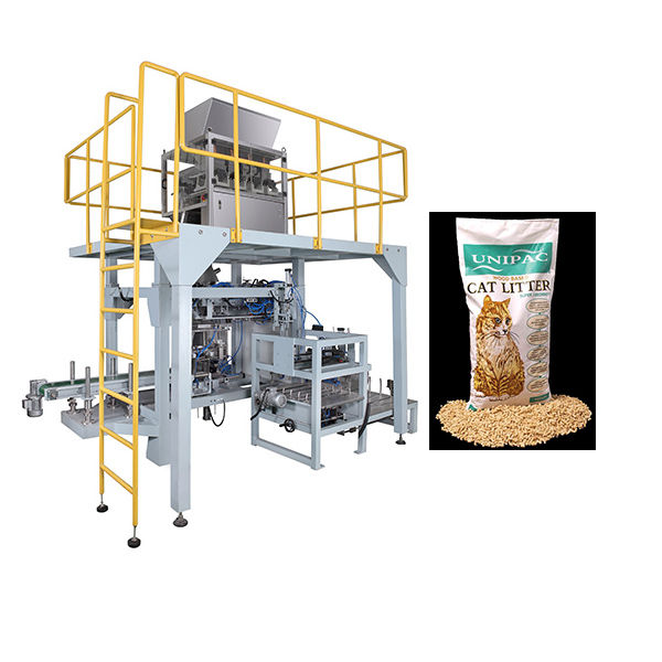 5kg 10kg Cat Litter Packing Machine