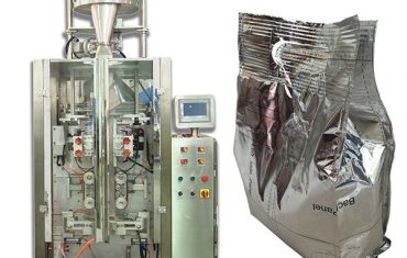 auto tea quad seal bag packaging machine
