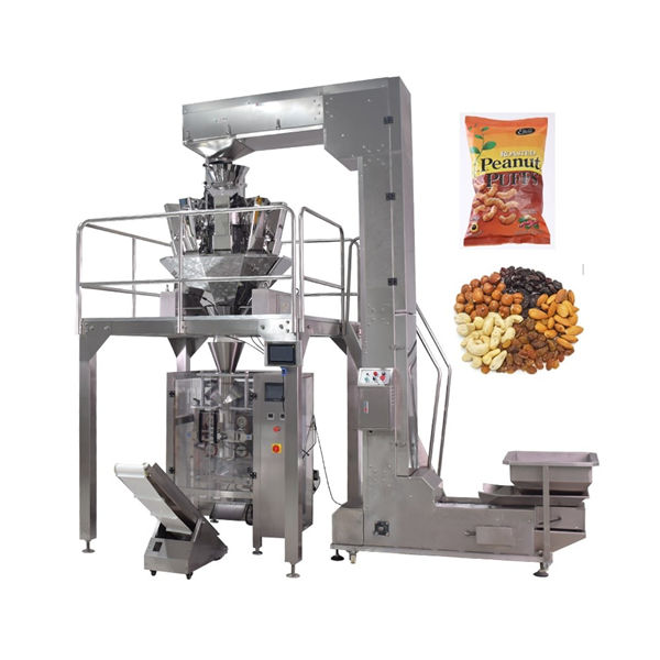 Automatic Bag Bean Nuts Peanuts Packing Machine