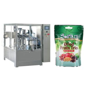 bag stand-up pouch filling sealing packing machine