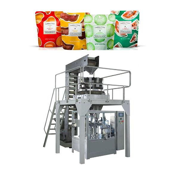Αυτόματη πλήρωση μηχανή συσκευασίας για τσάντα φερμουάρ