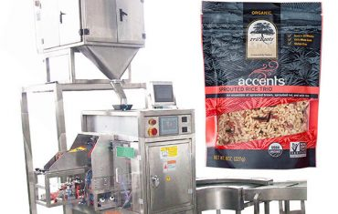 coffee powder bag given packing machine