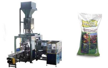 automatic 50kg big bag chemical fertilizer packing machine