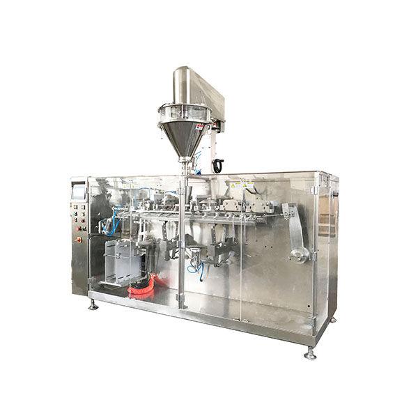 Máquina de embalagem de pó pré-fabricada horizontal automática