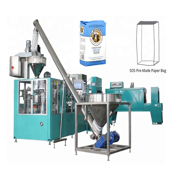 Automatic Pre-made Paper Bag Packing Machine