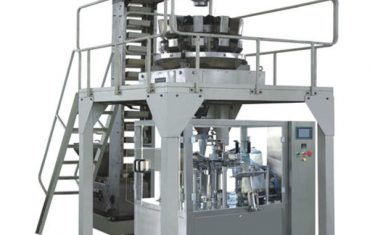granule weighing premade bag rotary packing machine