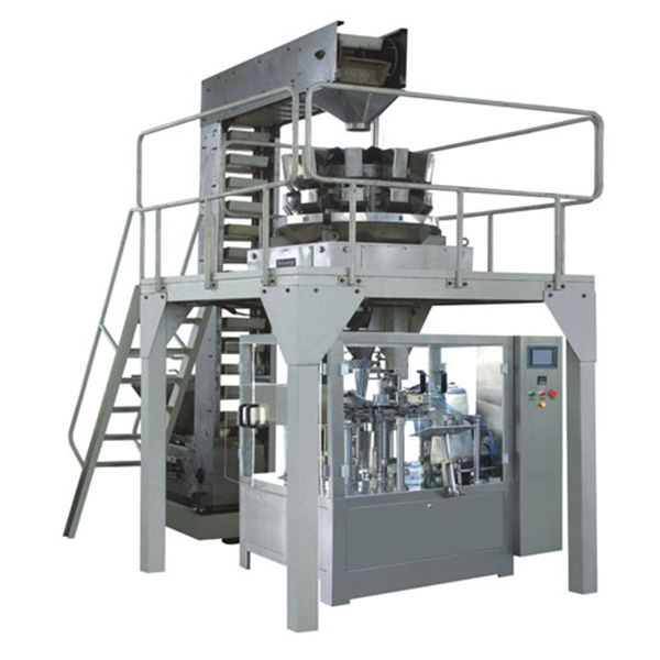 Automatic Premade Granule Weighing Filling and sealing Production Line