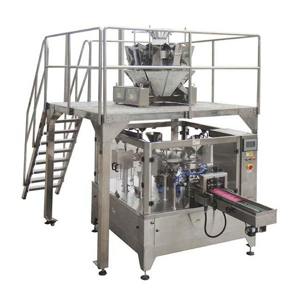 Automatic Rotary Food Packing Machine for Zipper Bag