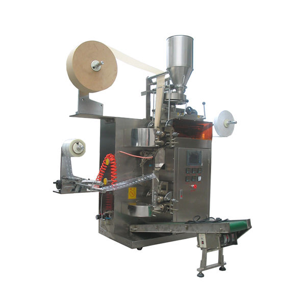 Automatic inner and outer double chamber tea leaves tea bag packing machine