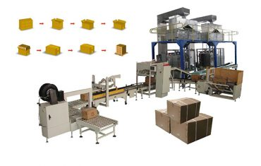 bag carton case packer machine