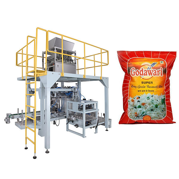 Big Bag Granular Heavy Bag Packaging Machine Of Rice For 10kg-50