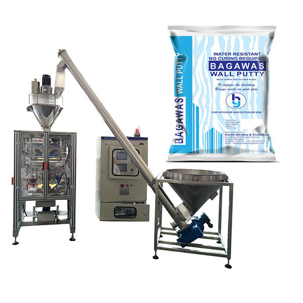Máquina de Embalagem de Fertilizantes Químicos