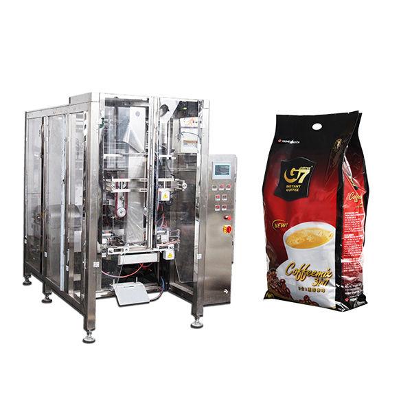 coffee quad bag form fill seal packaging machine