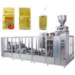 coffee vacuum brick bag packing machine