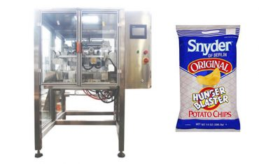 continuous motion vertical snack food granule packing machine