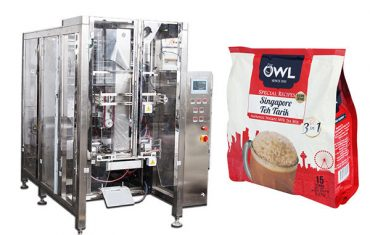 degassing valve automatic coffee powder packing machine
