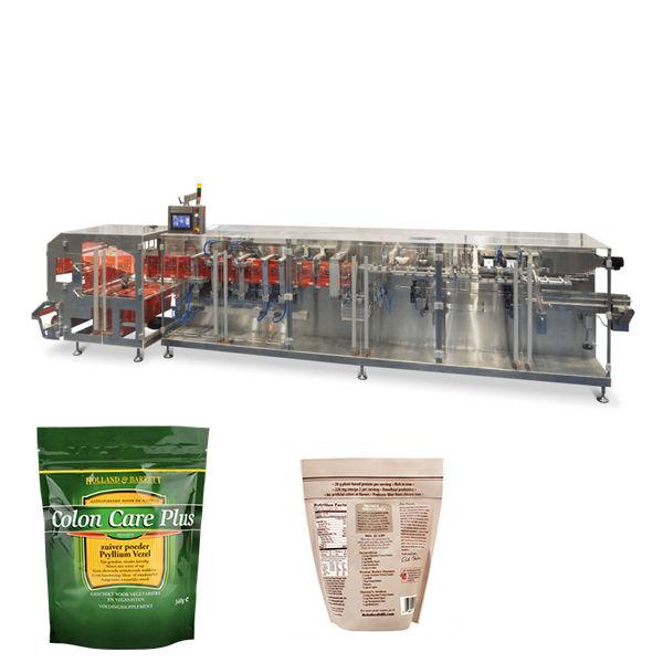 Doypack jauhe granulaatti pakkaus vaakasuorassa muodossa täyttö tiiviste kone