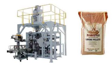 automatic granule premade big bag packing machine