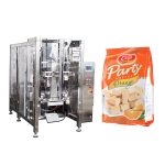 full automatic food quad seal bag packing machine