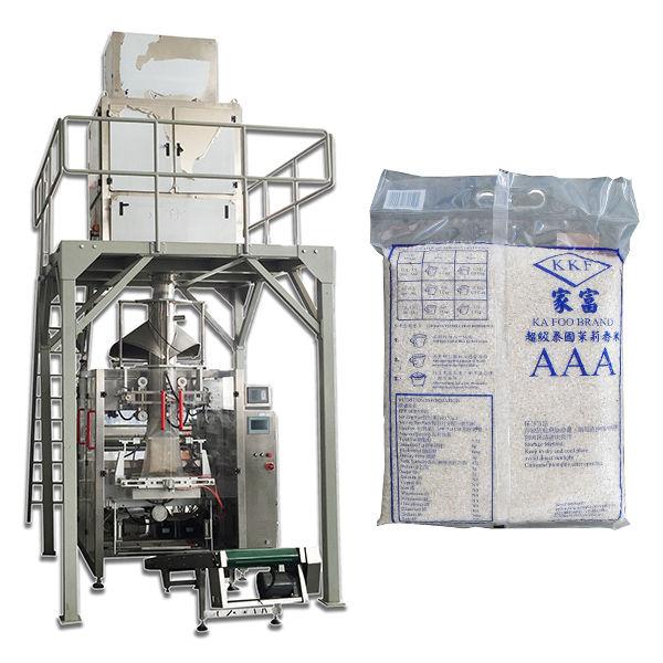 Plne automatický granulovaný časticový potravinový baliaci stroj na ryžu Cena