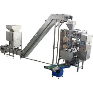 Granulates Vacuum Packaging Machine