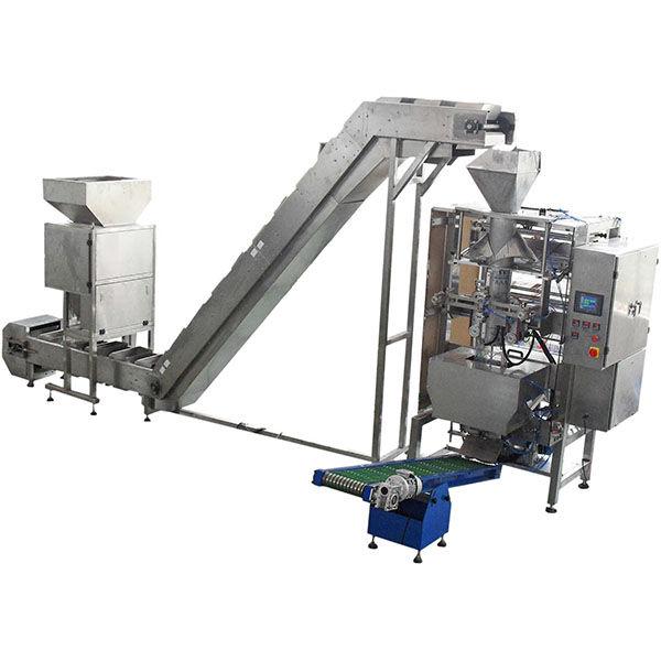 Granulates Vacuum Packaging Machine