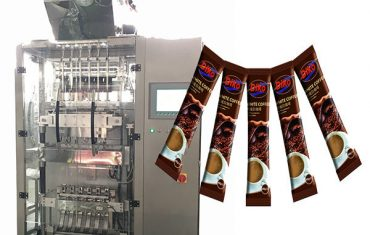 high speed multi line sachet stick packing machine