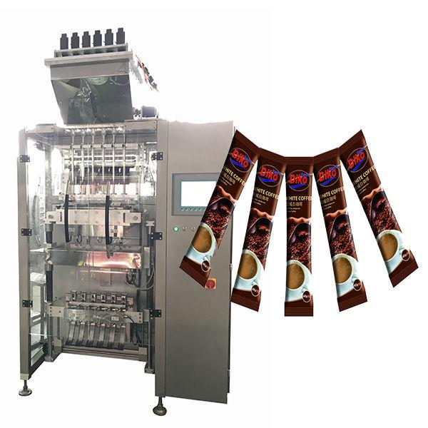 Máquina de embalagem de vara de saquinho de alta velocidade multi linha