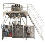 horizontal pre-made packing machine with multihead weigher
