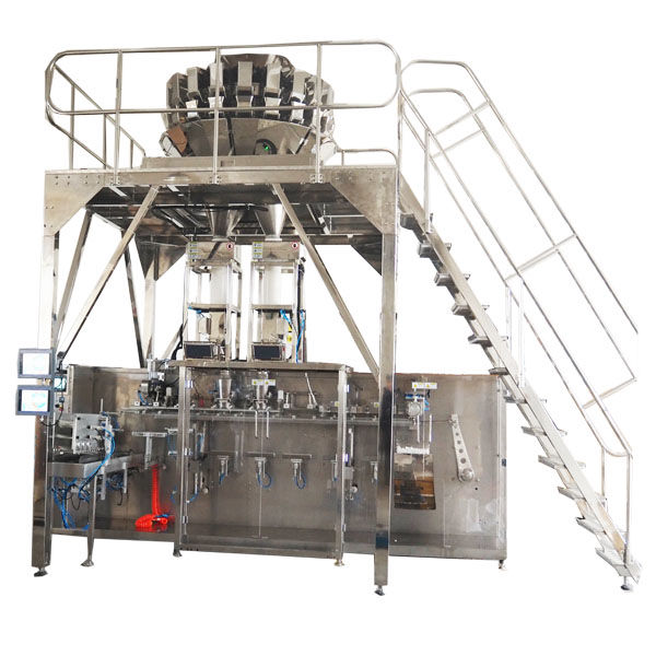 Horizontal Pre-made Packing Machine With Multihead Scales for Granules