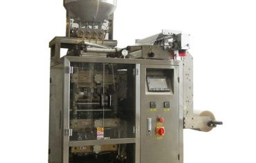 multi-lanes automatic sauce sachet liquid packing machine