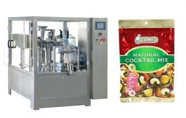 nuts rotary zipper bag packaging machine