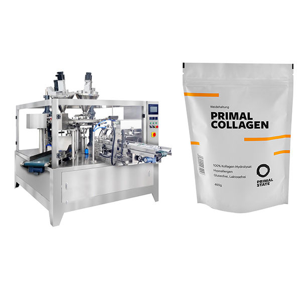 Powder Automatic Pouch Filling Packing Machine