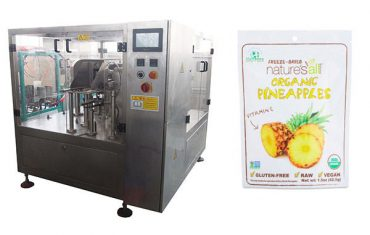 rotary filling and sealing packing machine