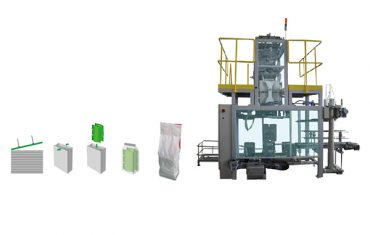 secondary packaging bag polywoven bag packing machine