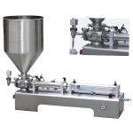single head piston filler viscous liquid