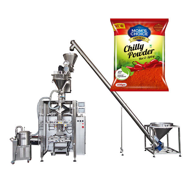 VFFS Bagger Packing Machine with Auger Filler for Paprika and Chilli Food powder