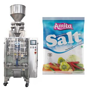 Vertical Automatic Sachet Bag Salt Packing Machine