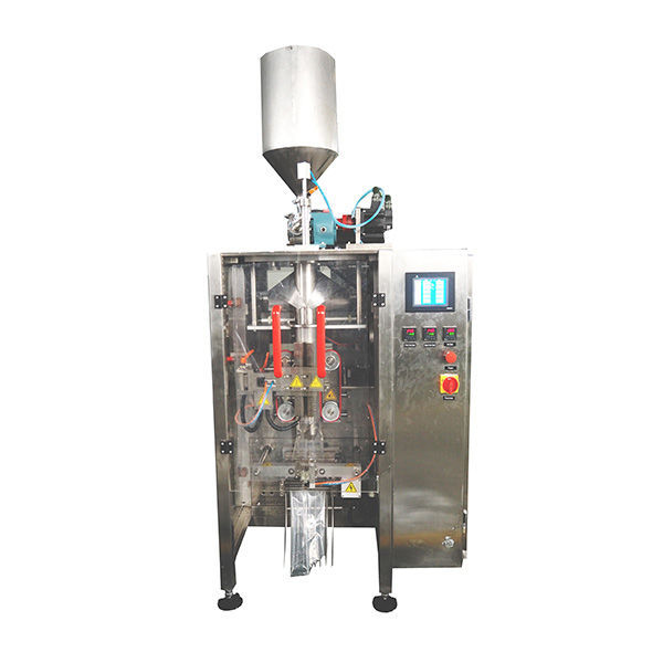 Vertical Form Fill Seal Machine With Pistion Filler For Liquid