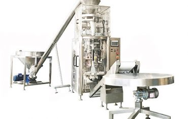 granule vertical form fill seal machine with volumetric cup