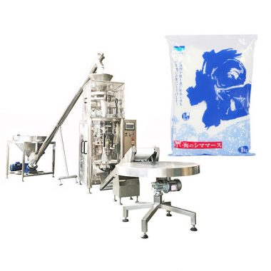 salt vertical form fill seal machine with volumetric cup