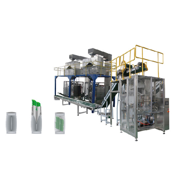 Vertical Packaging Machine Secondary Packing Line
