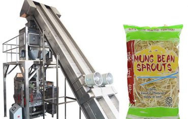full automatic weighing bean sprouts packaging machine