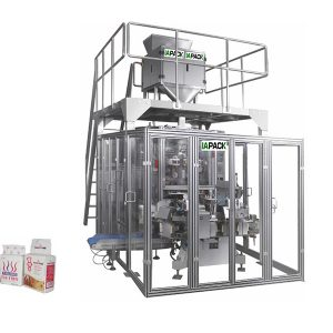 granule brick bag vacuum packaging machine